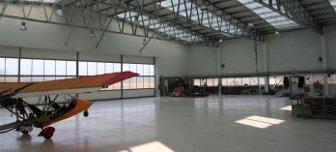 LLENTAB repülőcsarnokok és hangárok vonatkozásai