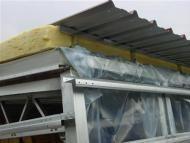 Sklad dvojplášťové  izolované strechy (LLENTAB typ 5)