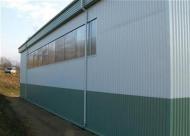 LLENTAB VP45 - štandardné stenové opláštenie montovanej haly