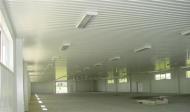 LLENTAB typ 4 - izolované steny montovanej haly ( + podhľad typ 2 )