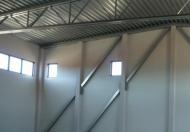 LLENTAB typ 7 - panely montované horizontálne na konštrukcii haly